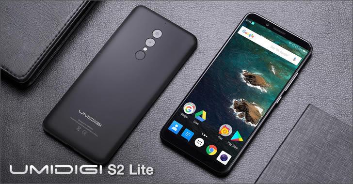 Umidigi S2 Lite - метален смартфон с голяма батерия и 6-инчов 18:9 дисплей на умерена цена