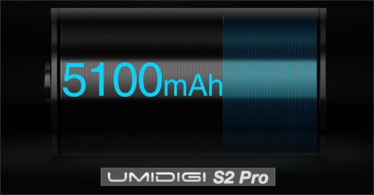 Umidigi S2 Pro battery