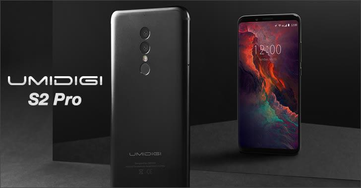 Umidigi S2 Pro black