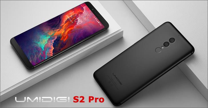 Umidigi S2 Pro design