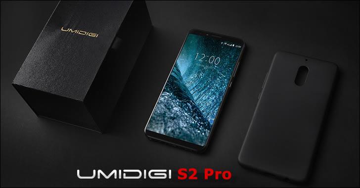 Umidigi S2 Pro package