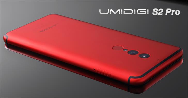 Umidigi S2 Pro red