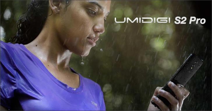 Umidigi S2 Pro water resistant