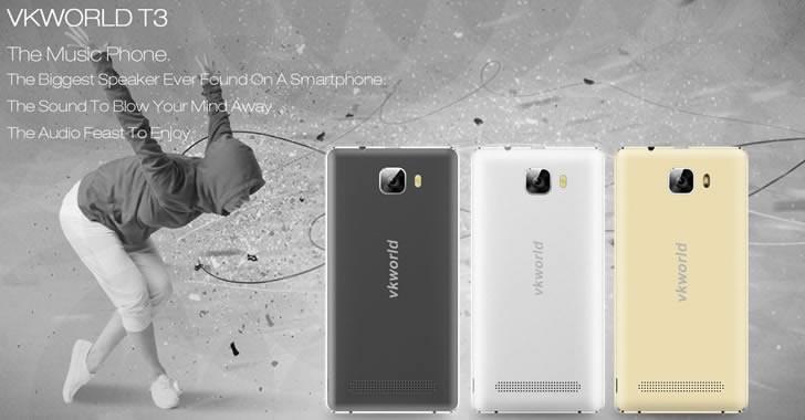 VKworld T3 - бюджетен смартфон с 4G модул, 2GB RAM и 4-ядрен процесор