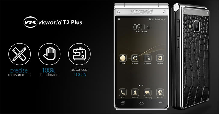 VKworld T2 Plus front back