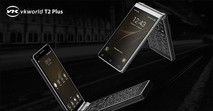 VKworld T2 Plus - уникален сгъваем смартфон с 2 екрана