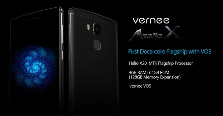 Vernee Apollo X spec