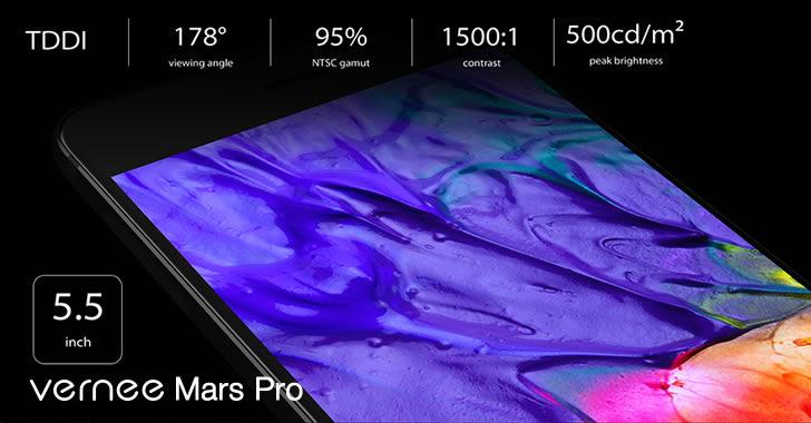 Vernee Mars Pro Display