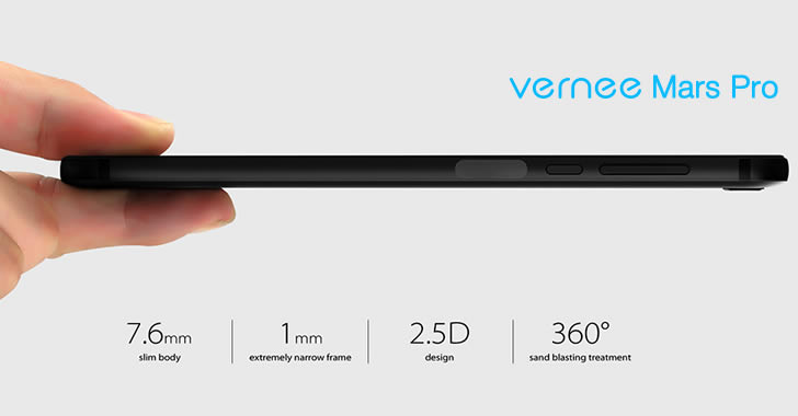 Vernee Mars Pro slim