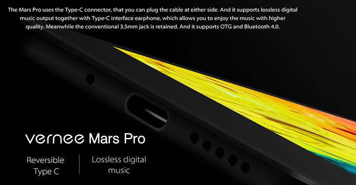 Vernee Mars Pro USB Type-C