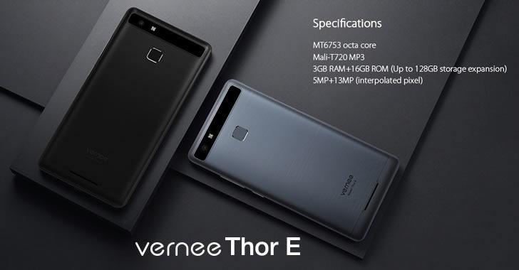 Vernee Thor E hardware