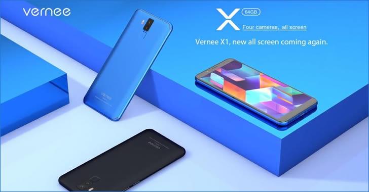 Vernee X1 - 666 смартфон - 6GB RAM, 64GB ROM, 6200 mAh батерия