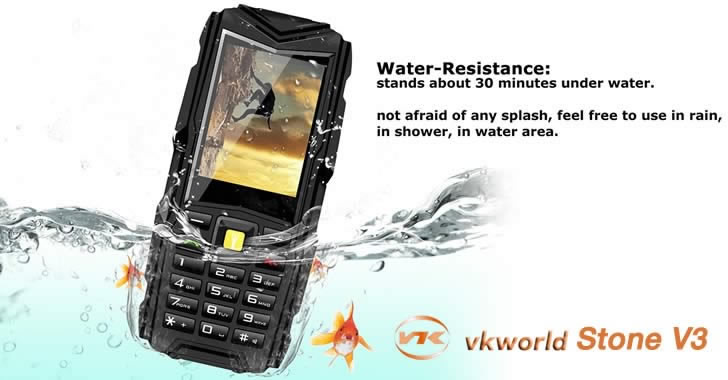 Vkworld Stone V3 water resistant