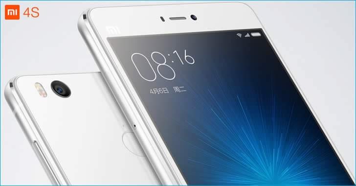 Xiaomi Mi 4s white