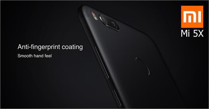 Xiaomi Mi 5X coating