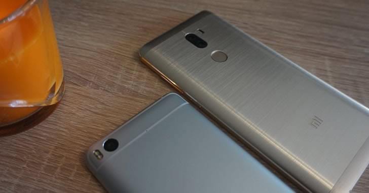 Xiaomi Mi 5S back