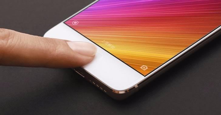 Xiaomi Mi 5S fingerprint