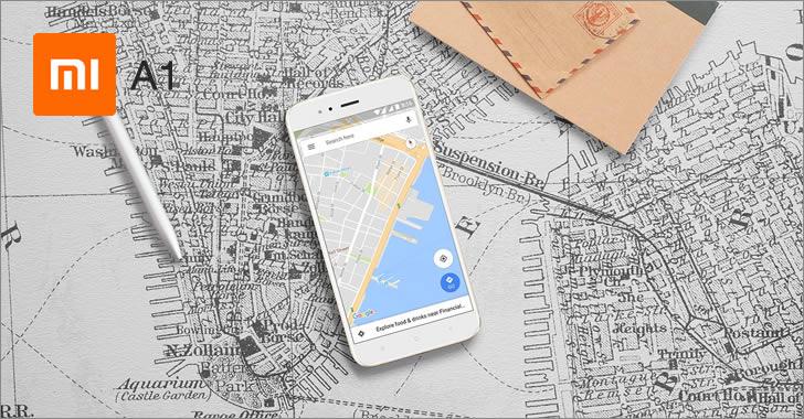 Xiaomi Mi A1 maps
