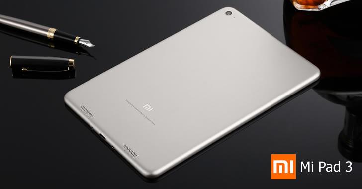 Xiaomi Mi Pad 3 back