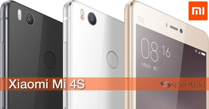 Xiaomi Mi 4s - мощен смартфон с 6-ядрен Snapdragon 808 и стъклен гръб