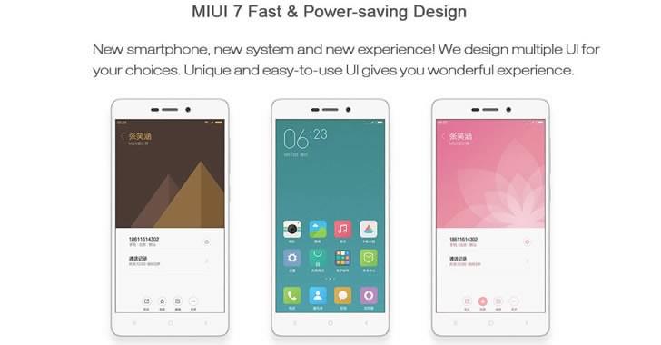 Xiaomi Redmi 3 Pro MIUI