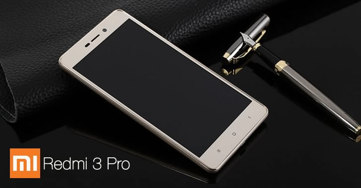 Xiaomi Redmi 3 Pro front