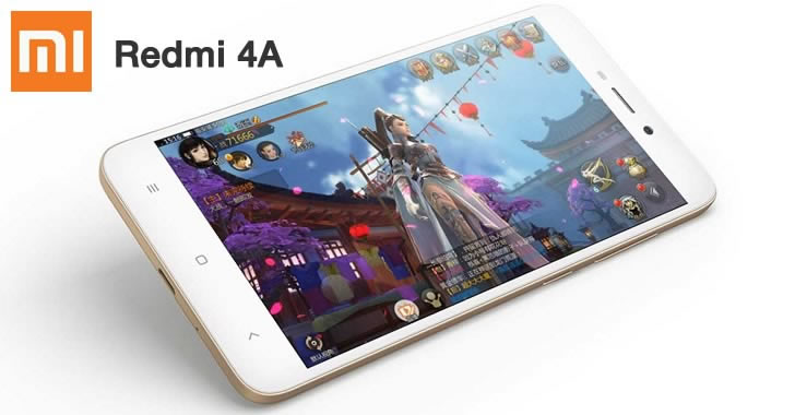 Xiaomi Redmi 4A game
