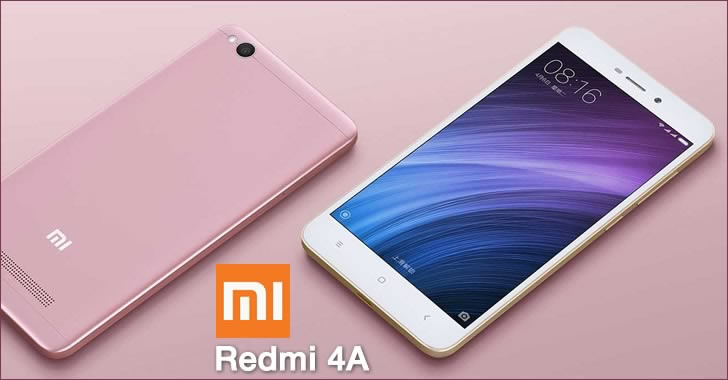 Xiaomi Redmi 4A rose gold