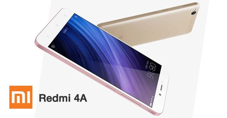Xiaomi Redmi 4A 2 faces