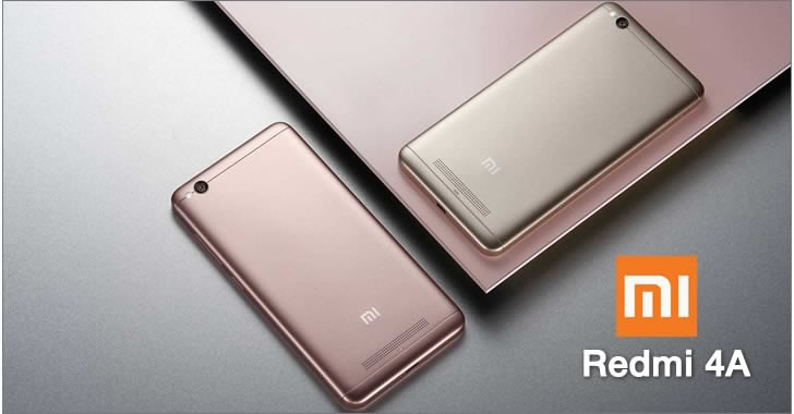 Xiaomi Redmi 4A - най-евтиният смартфон на китайците вече е наличен