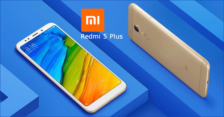 Xiaomi Redmi 5 Plus front