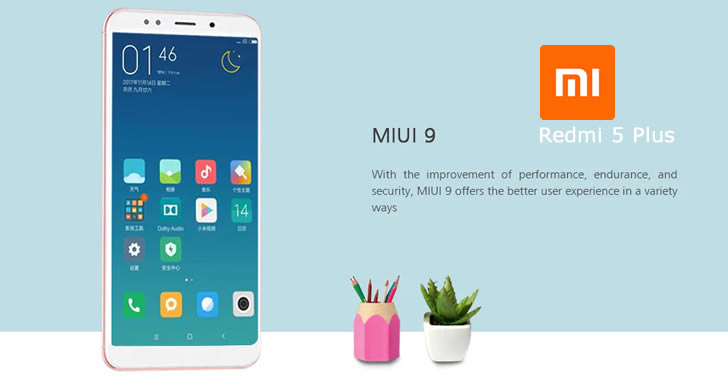 Xiaomi Redmi 5 Plus MIUI 9