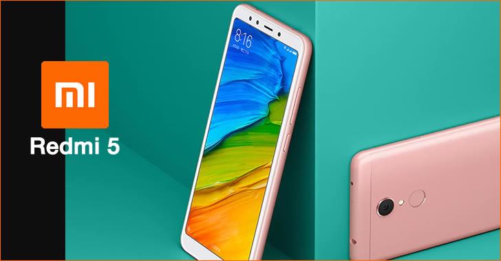 Xiaomi Redmi 5 pink