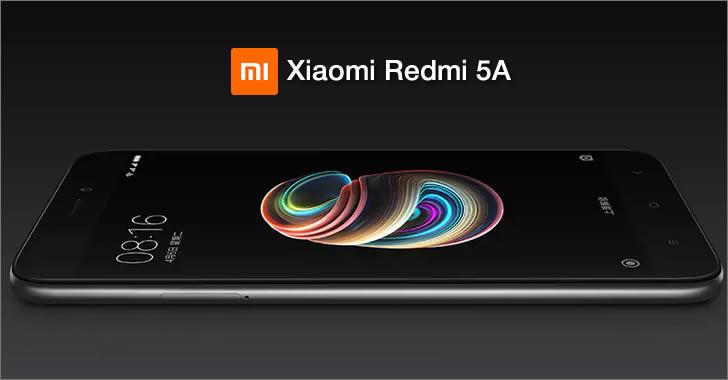 Xiaomi Redmi 5А black