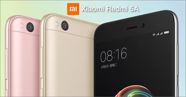 Xiaomi Redmi 5А color