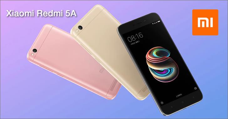 Xiaomi Redmi 5А colors