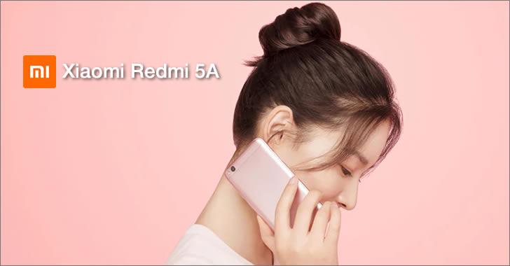 Xiaomi Redmi 5А pink