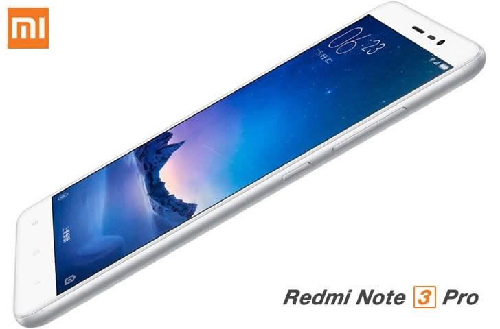 Xiaomi RedMi Note3 Pro Silver