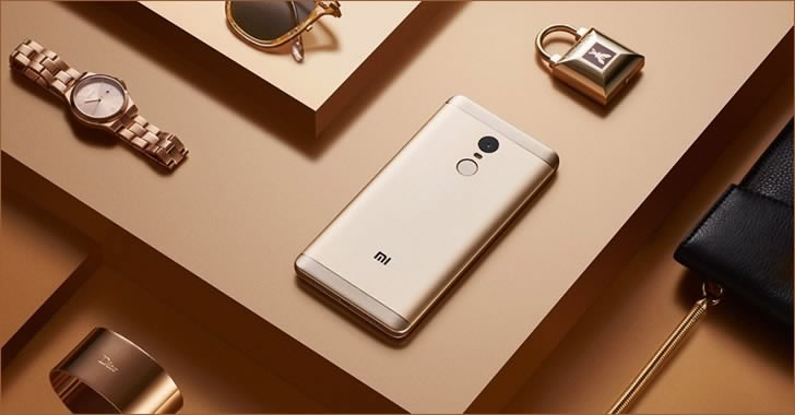 Xiaomi Redmi Note 4X gold