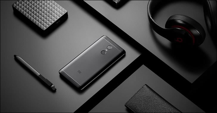 Xiaomi Redmi Note 4X gray