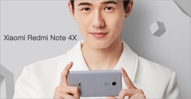 Xiaomi Redmi Note 4X silver