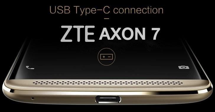 ZTE Axon 7 USB Type C