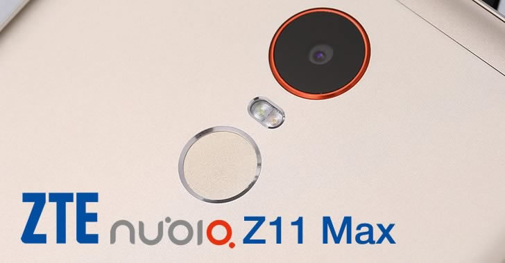 ZTE Nubia Z11 Max camera