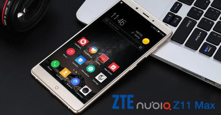 ZTE Nubia Z11 Max display