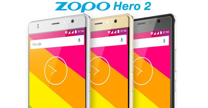 Zopo Hero 2 colors