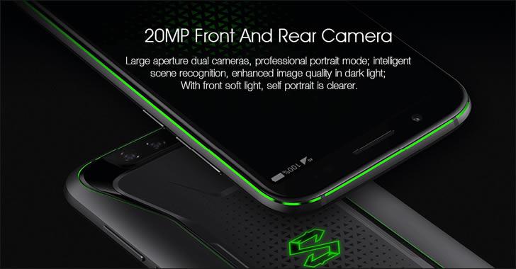 Xiaomi Black Shark camera