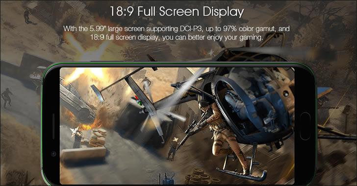 Xiaomi Black Shark display