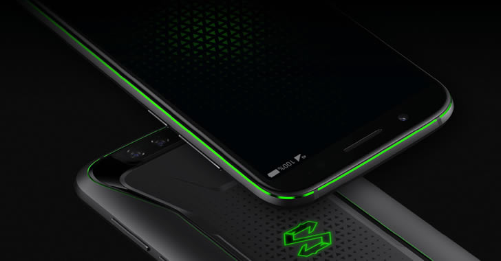 Xiaomi Black Shark front down