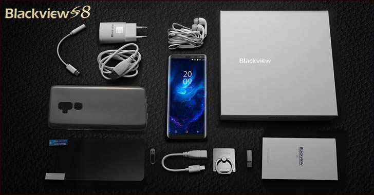 Blackview S8 packing