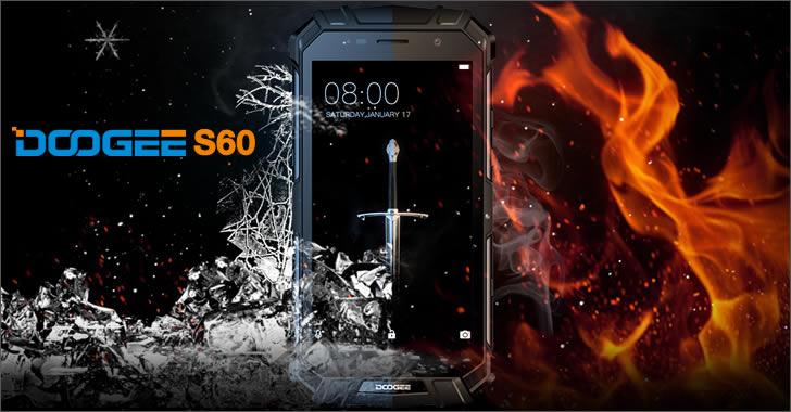 Doogee S60 - най-добрият брониран смартфон с 6GB RAM и 21MPx камера